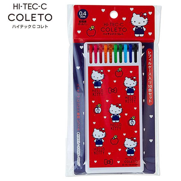PILOT百樂HI-TEC-C 2016 Hello Kitty凱蒂貓限定盒裝筆芯組