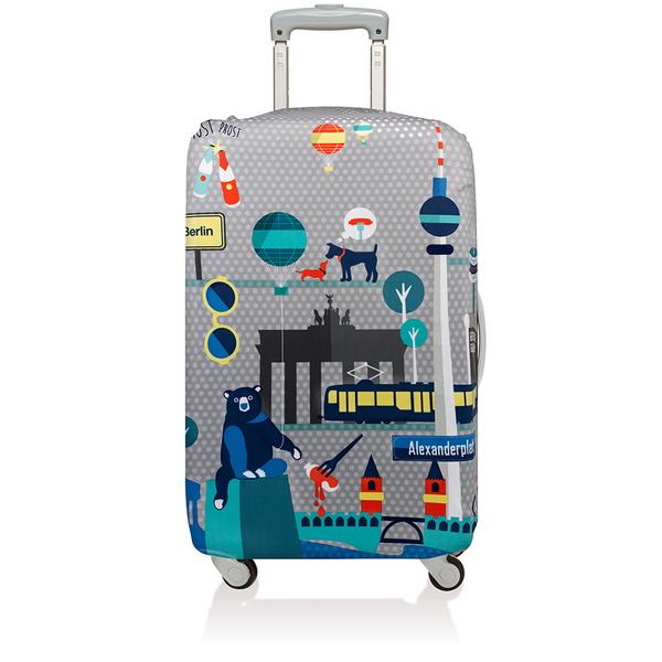 【騷包館】LOQI 德國品牌 時尚高防護防塵行李箱套(大)==柏林 LO-LLURBE