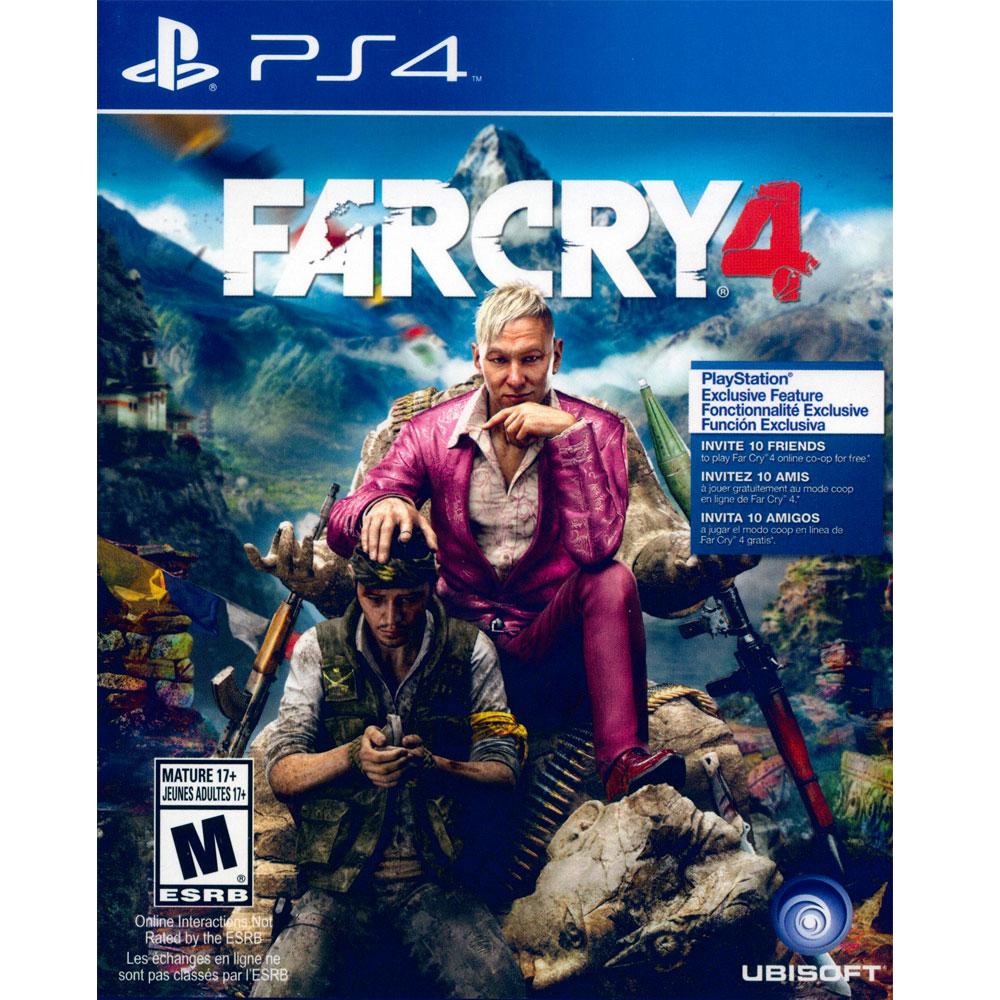 PS4 極地戰嚎 4 英文美版 FAR CRY 4