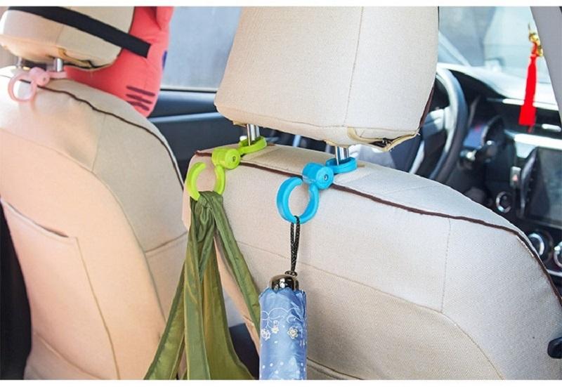 【這個讚】360度椅背掛勾 單支(車用 後座 隱藏 頭枕 耐重 加粗 收納 汽車)