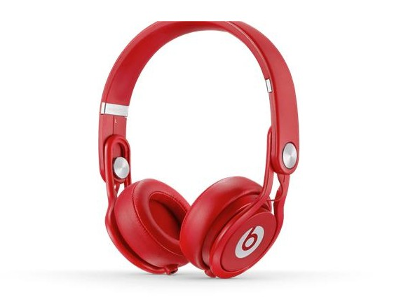 Beats by dr.dre Mixr  耳機 與 Monster David Guetta DJ聯名 紅色