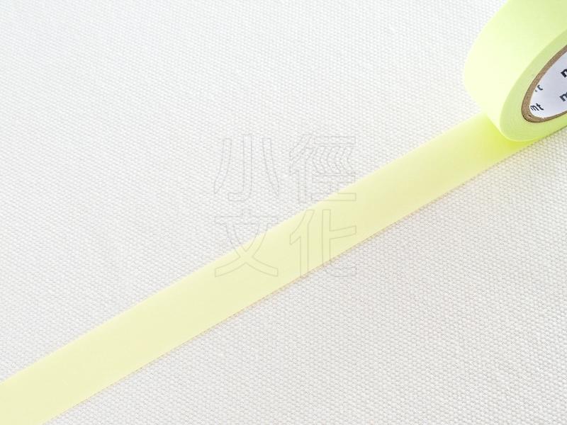 *小徑文化* 日本進口和紙膠帶 mt 1P Basic - 無地_萊姆 ( MT01P310 )