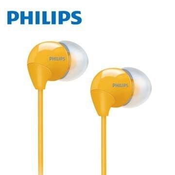 【迪特軍3C】PHILIPS 飛利浦 SHE3590 耳塞式耳機 黃色