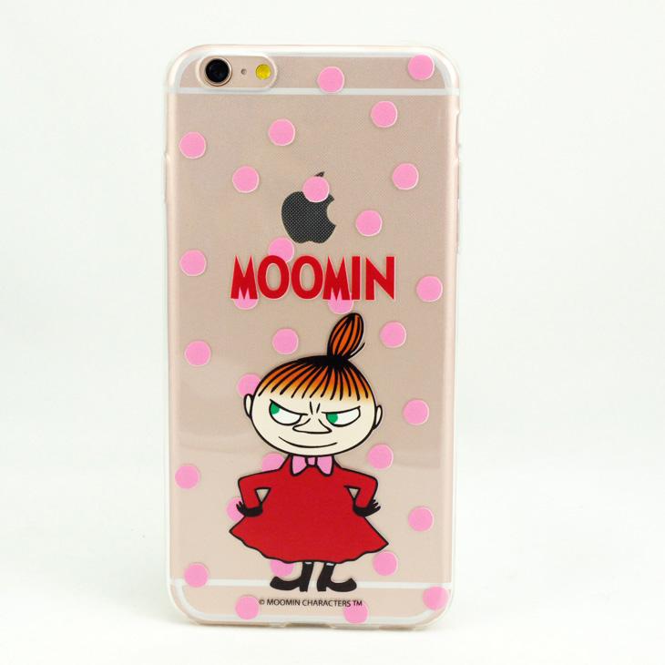 Moomin嚕嚕米正版授權 - TPU手機保護殼:【 愛生氣的小不點 】《  iPhone/Samsung/HTC/ASUS/Sony/LG/小米/OPPO 》