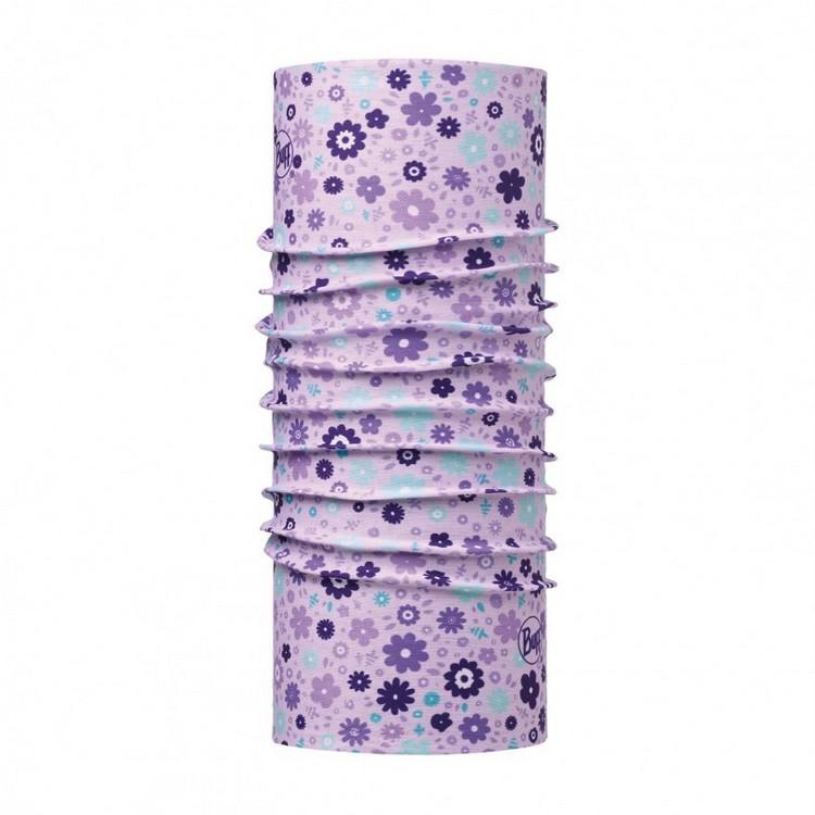 路跑/馬拉松/健行/嘉明湖/玉山/滑雪 [ Buff ] 113405 BABY BUFF 寶寶萬用魔術頭巾紫花朵朵