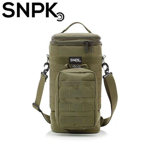 SNPK 多功能汽化燈收納袋S-軍綠 露營用品/營燈收納攜行袋 台北山水