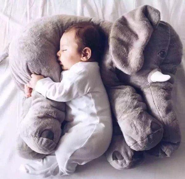大象抱枕 靠枕 嬰兒枕 安撫枕 哺乳輔助枕042585海渡