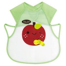 『121婦嬰用品館』拉孚兒 擦可淨用餐圍兜(背心型) - 蘋果