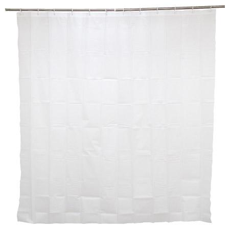 浴簾 半透明素色無花紋 180x180cm