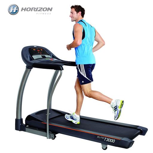 JOHNSON喬山 - HORIZON Elite T3000 專業電動跑步機《Passport壯遊系互動影音系統》