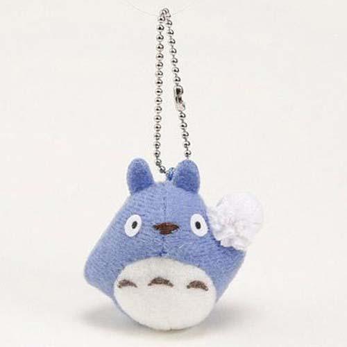 【百倉日本舖】日本進口 知名卡通 龍貓吊飾/藍色