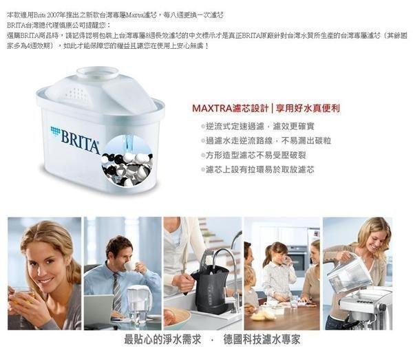 【大墩生活館】 BRITA MAXTRA 系列濾芯1入 濾水壺專用 新一代8週長效型只賣260元