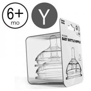 韓國【Comotomo】FDA認可醫療級矽膠奶嘴(不含雙酚A) -Y字