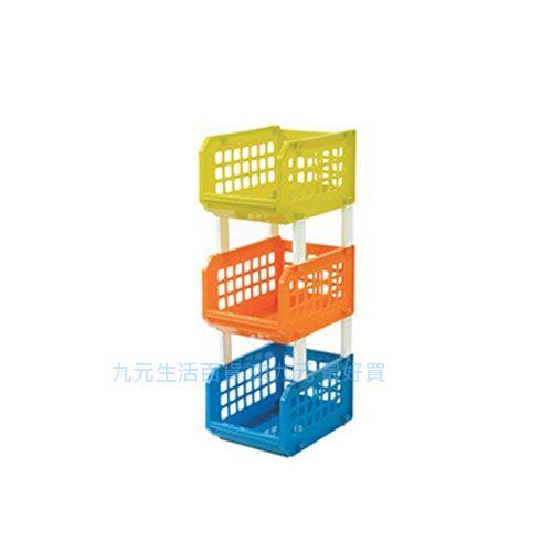 【九元生活百貨】聯府 KR-103 三層開放式收納架 置物 KR103