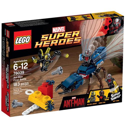 高積木 LEGO《 LT76039 》2015 年 SUPER HEROES 超級英雄系列 > Ant-Man Final Battle