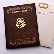 葉子 書籤 18K金 簍空 金屬 雕花 水果 黃金 夾子 籤  葉子 禮品 書 卡片 生日卡 賀卡
