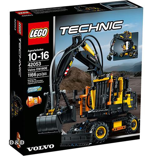 樂高積木 LEGO《 LT42053 》科技 Technic 系列 - Volvo EW160E