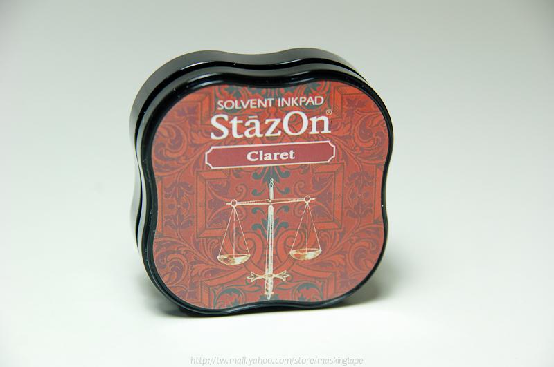 *小徑文化*日本手作雜貨 StazOn 染料系印台 ( midi系列 ) - Claret ( SZM-23 )