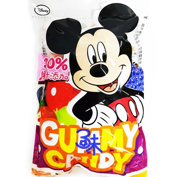 (台灣) DISNEY 迪士尼 米奇綜合水果QQ糖 1包 250 公克(約 50小包)  特價 105 元 【4712466017916】(MICKY Mouse 水果軟糖)
