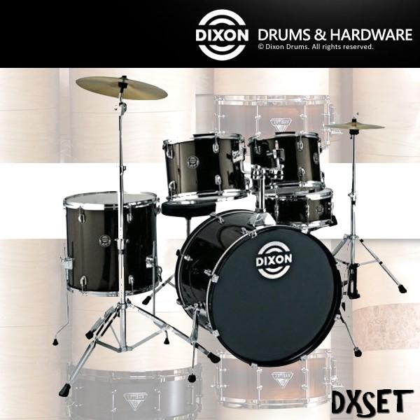 【非凡樂器】DIXON台製爵士鼓組DX系列 台製入門款插銷式(含Solar套鈸,DIXON9280鼓架組,鼓棒,鼓毯)各色可選