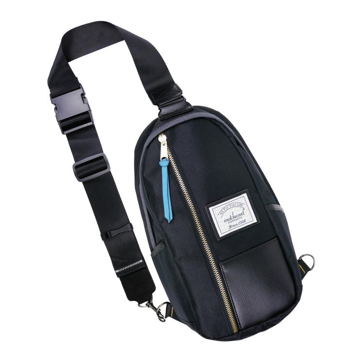 REMATCH - Matchwood Hunter 單肩後背包 皮料全黑款 斜背包 側背包 隨身包 胸前包 基本防水 / 單車/ 輕便 / 旅遊休閒隨身 / 運動 / Fixed gear / Dickies / Porter 可參考