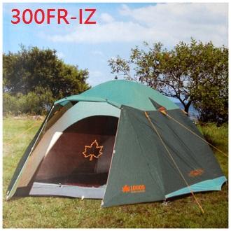 【露營趣】中和 LOGOS LG71801725TW-G 綠楓300FR-IZ帳 6~8人帳篷 露營帳篷 家庭帳篷