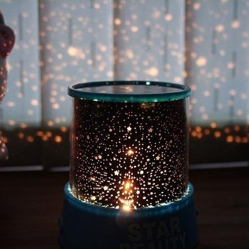 PS Mall 浪漫款天體投射燈 投影燈 仿月份星空 paris【J065】小夜燈 兒童節 情人節