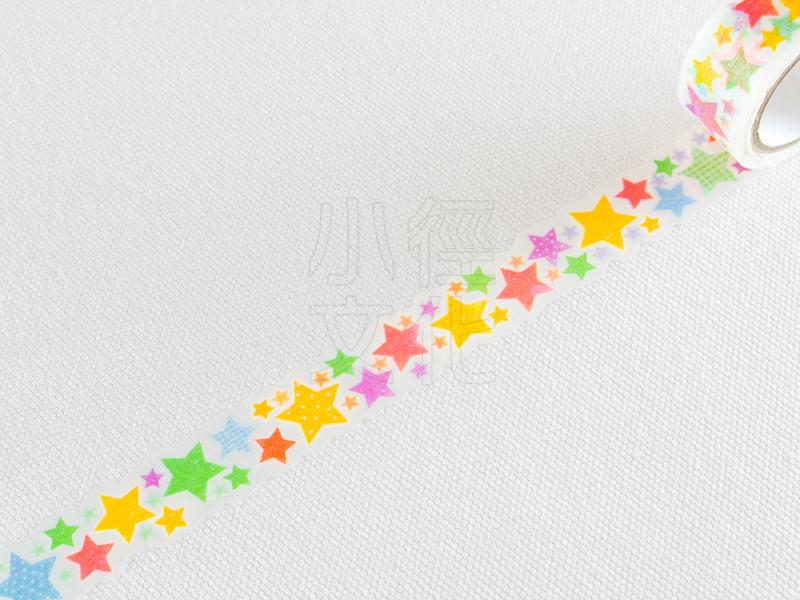 *小徑文化*日本進口和紙膠帶 PINE BOOK nami.nami Aqua Neon系列 ( TM00445 )