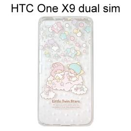 雙子星透明軟殼 [TS2] HTC One X9 dual sim【三麗鷗正版授權】