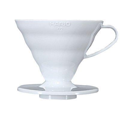*新品上市*日本知名品牌 HARIO V60 白色磁石濾杯VDC-01W