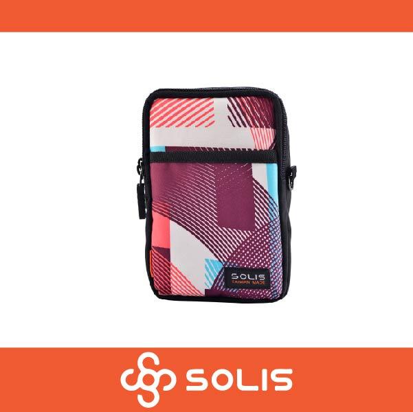 SOLIS B07010 馬戲團系列多功能萬用包 側背包 腰包 防潑水 嫩粉色 萬特戶外運動