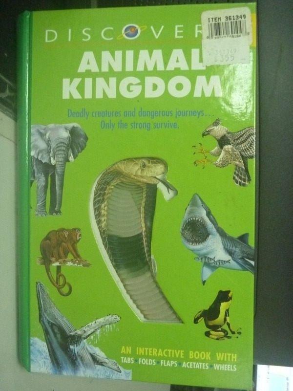 【書寶二手書T6/動植物_ZCV】Animal Kingdoms_Taylor, Barbara