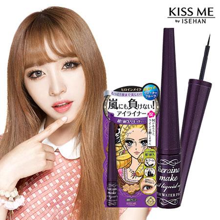 日本 KISS ME 奇士美 花漾美姬 璀璨淚眼防水眼線液EX 2.5g 眼線液【B061744】