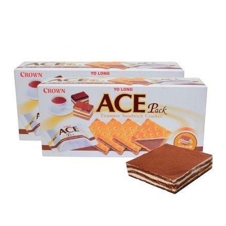 優龍【ACE】提拉米蘇夾心餅乾1盒【合迷雅好物商城】