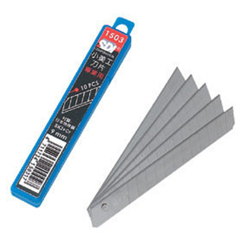 【SDI 手牌 刀片】1503 高硬度美工刀片/10片入 (小)
