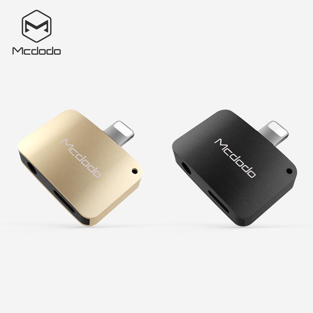 【Mcdodo】Apple iPhone7 / 7 Plus Lightning 8 pin to 3.5mm 耳機轉接頭 充電頭手機轉3.5mm (CA-381)