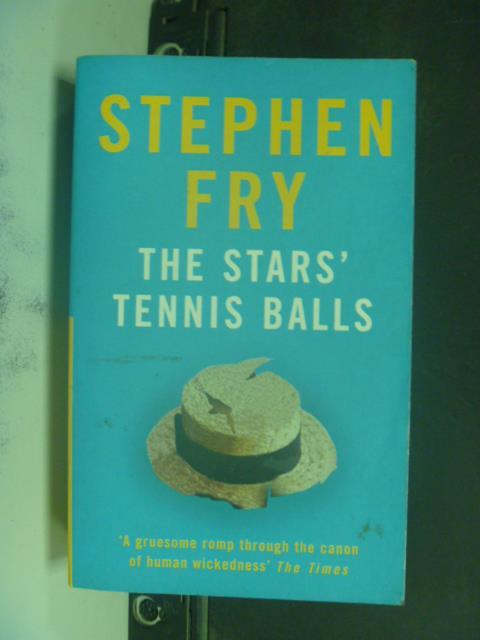 【書寶二手書T1/原文小說_KJA】The Stars' Tennis Balls_?STEPHEN FRY