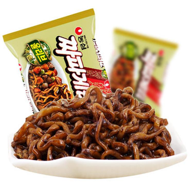 韓國 農心 炸醬拉麵 浣熊拉麵(140g)【庫奇小舖】