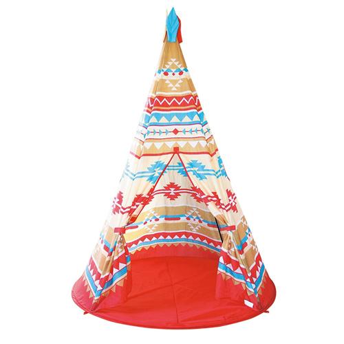 預購。小朋友的秘密基地 造型帳篷-印第安 圓錐帳篷屋。裕子的店【jp1220-418】