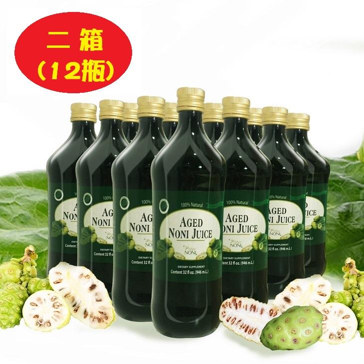 免運費!有機諾麗果汁-歐盟美國有機雙認證.原裝進口沛德100%有機諾麗果汁946ml/瓶 ( 6瓶裝 )*2箱,養顏保健聖品!