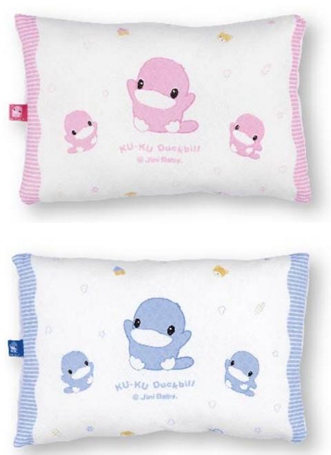 KUKU 酷咕鴨 親水透氣初生枕 共二款顏色