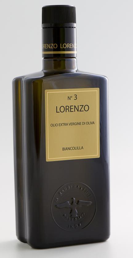 羅倫索N.3產區認証特級初榨橄欖油500ML