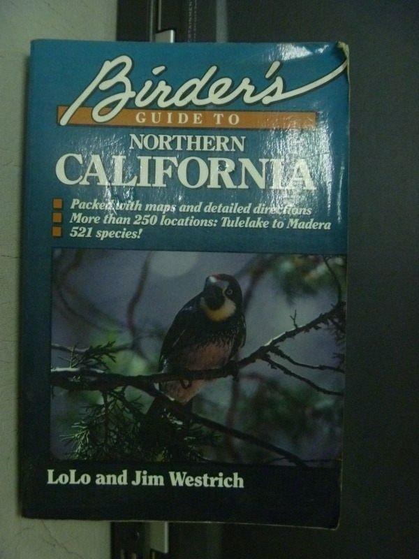 【書寶二手書T2/動植物_ODY】Northern CALIFORNIA_1991