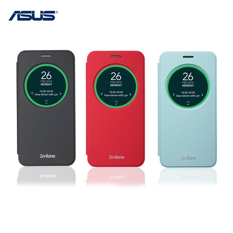 ASUS ZenFone 2 Laser ZE500KL Z00ED/ZE500KG 5吋 原廠智慧透視皮套/電池蓋皮套/原廠皮套/保護套/保護殼/皮套