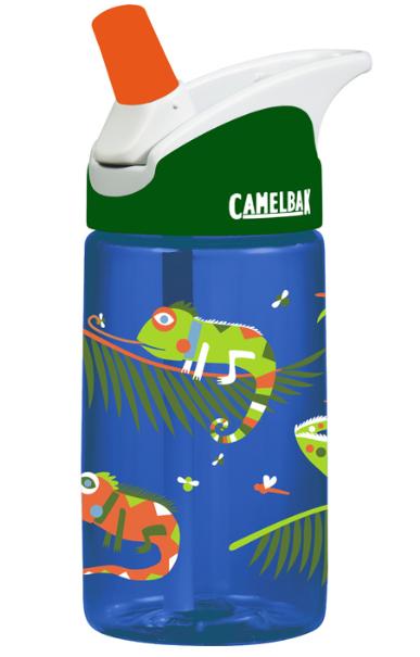 ├登山樂┤美國 Camelbak 兒童吸管運動水瓶 400ml 變色蜥蜴#CB53855