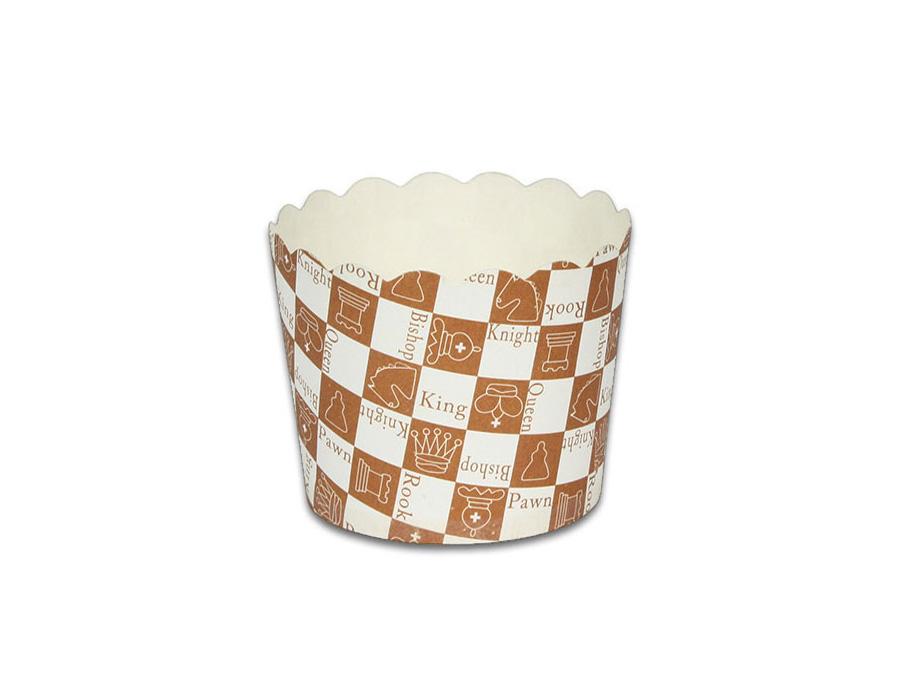 瑪芬杯、杯子蛋糕、烘烤紙杯 MF5040-12 西洋棋(50pcs/包)