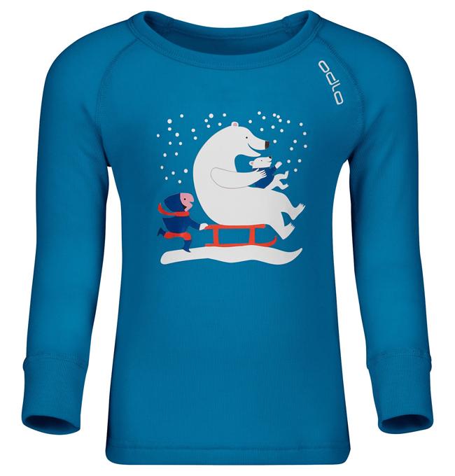 【鄉野情戶外用品店】 ODLO  瑞士  保暖型機能排汗衣/保暖衣 機能衣 發熱衣 兒童內衣/150509【兒童款】