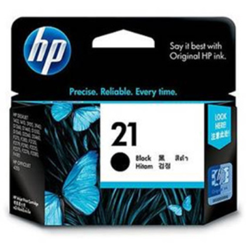 【HP 墨水匣】C9351AA /NO.21 原廠黑色墨水匣