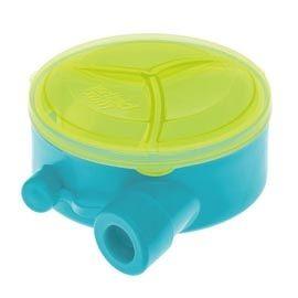 【悅兒樂婦幼用品舘】英國 Brother max 旋轉式奶粉分裝盒(藍色)