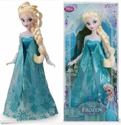 日本直送 Disney 迪士尼 Frozen 冰雪奇緣 Elsa 艾莎女王 造型人形娃娃
